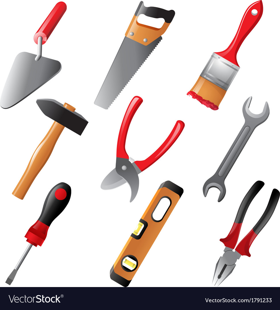 Working tools vector | Price: 1 Credit (USD $1)