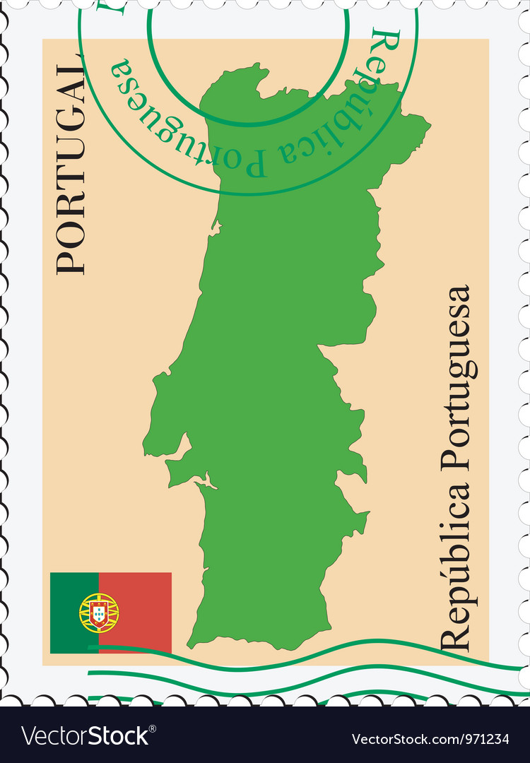 Mail to-from portugal vector | Price: 1 Credit (USD $1)