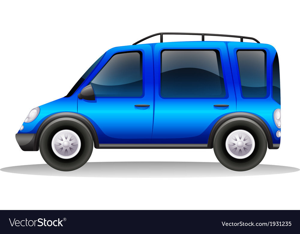 A tinted family car vector | Price: 1 Credit (USD $1)