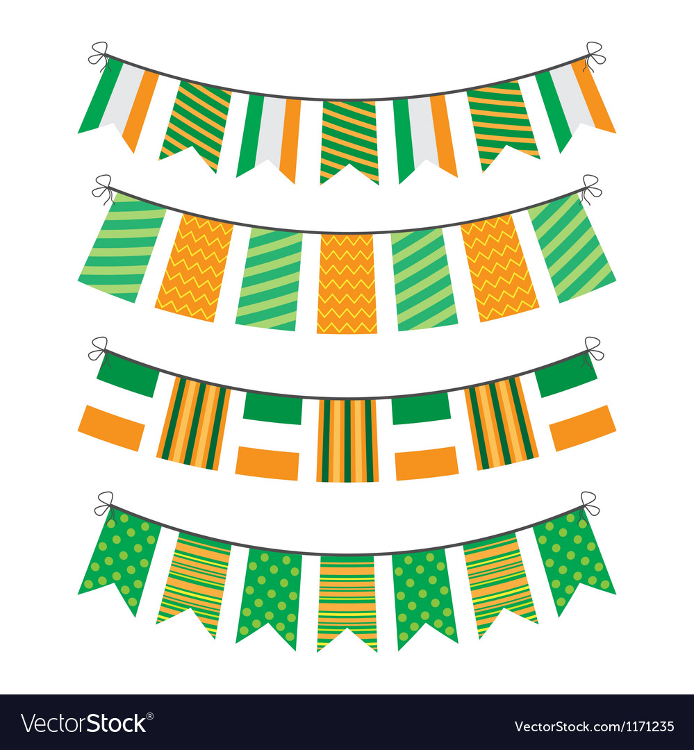 Bunting of flags vector | Price: 1 Credit (USD $1)