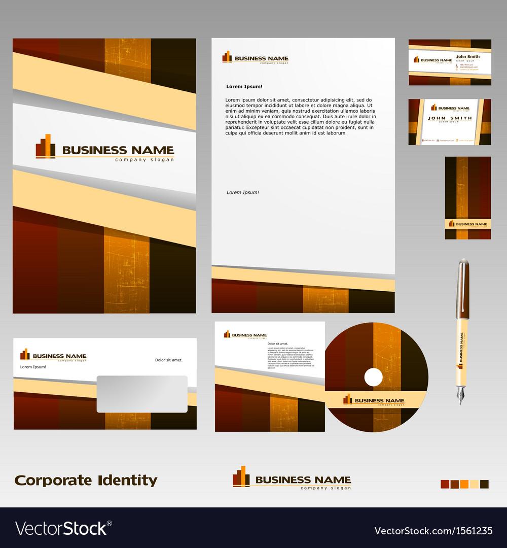 Corporate identity vector | Price: 1 Credit (USD $1)