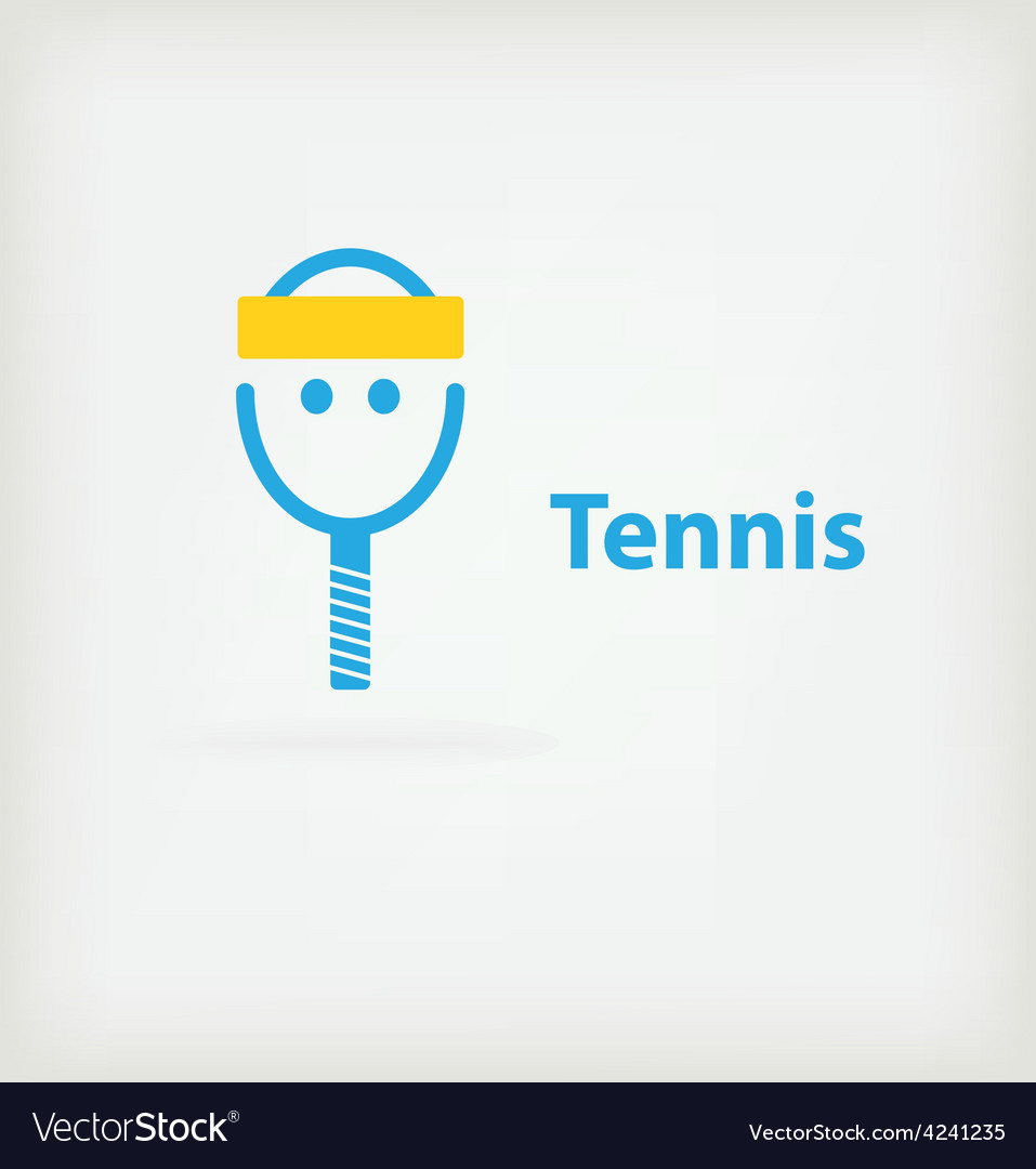 Tennis symbol vector | Price: 1 Credit (USD $1)