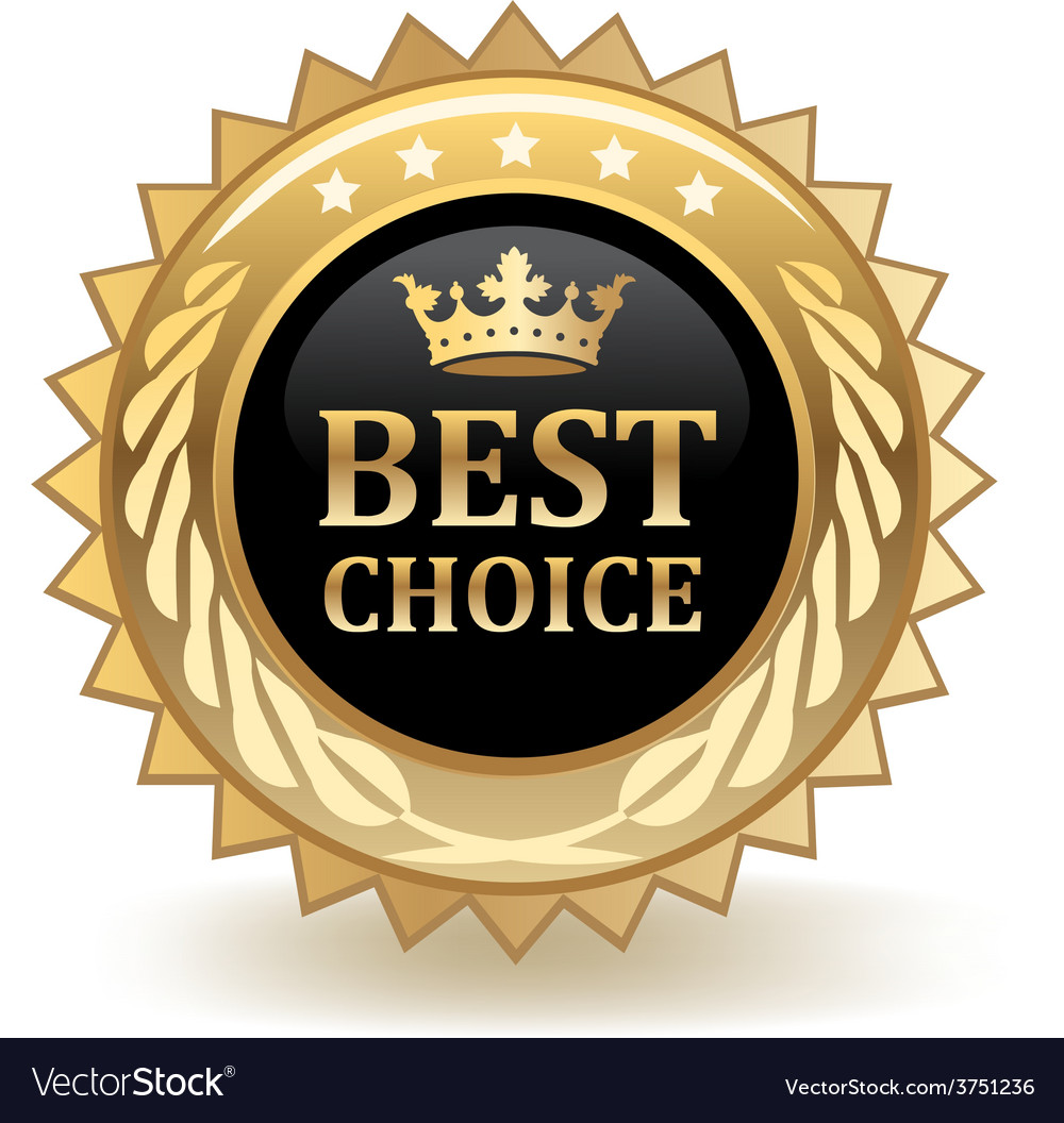 Best choice badge vector | Price: 1 Credit (USD $1)