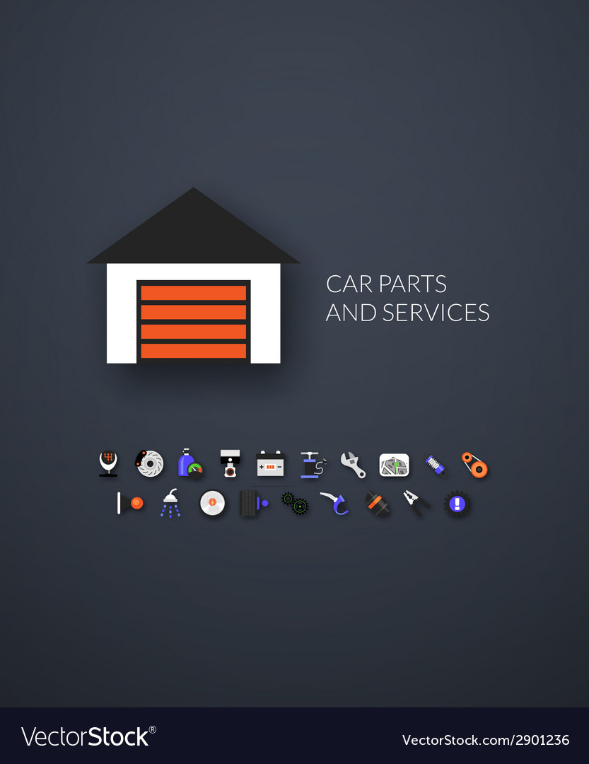 Flat icons set 24 vector | Price: 1 Credit (USD $1)