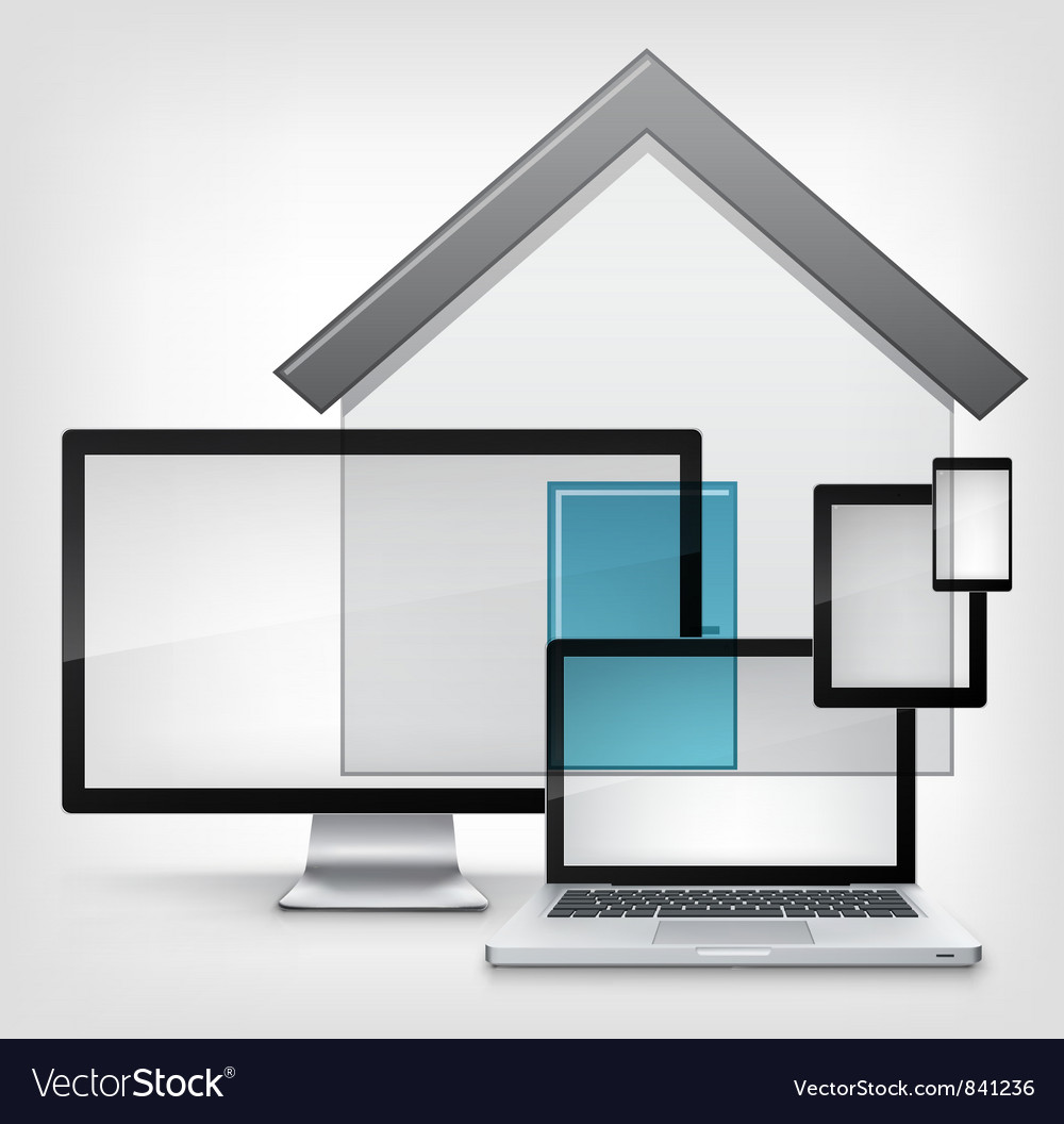 Home concept vector | Price: 1 Credit (USD $1)