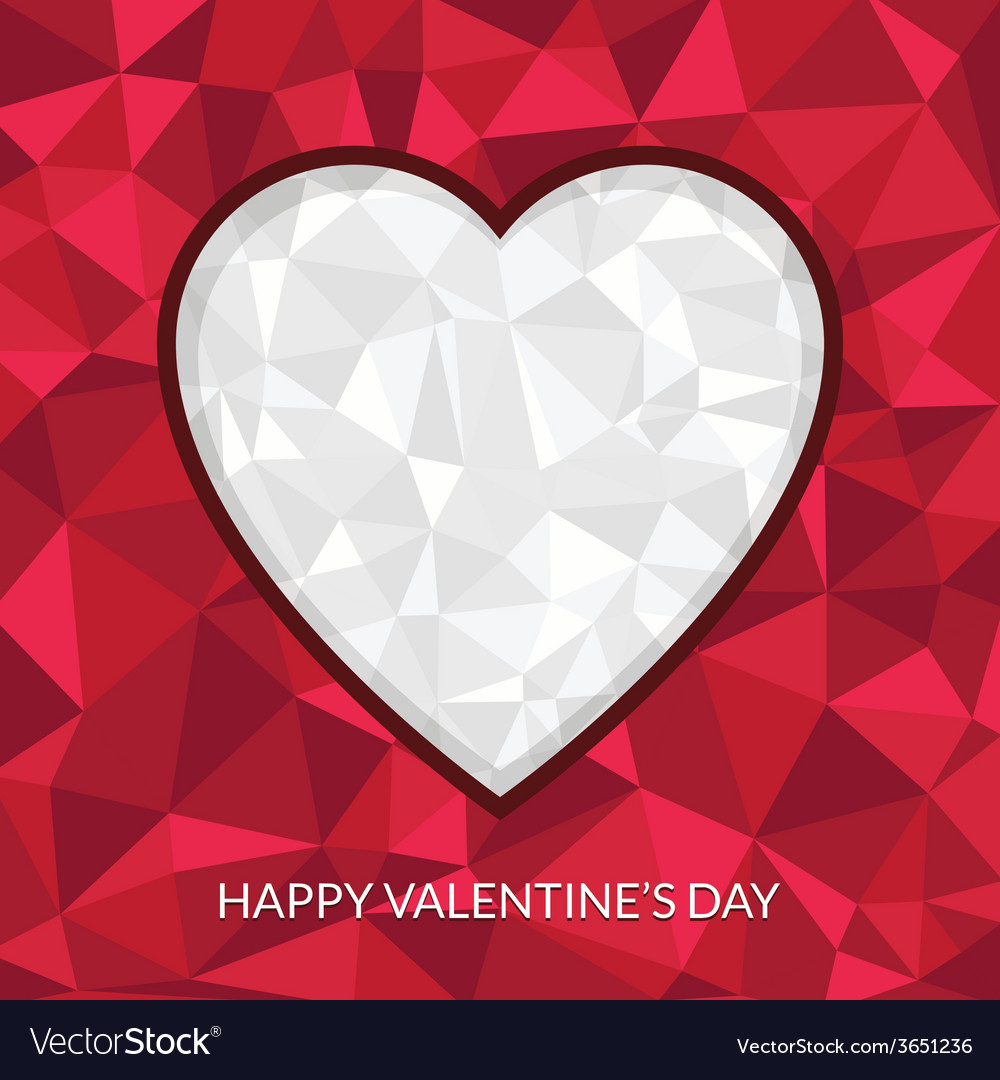 Valentine heart decoration vector | Price: 1 Credit (USD $1)