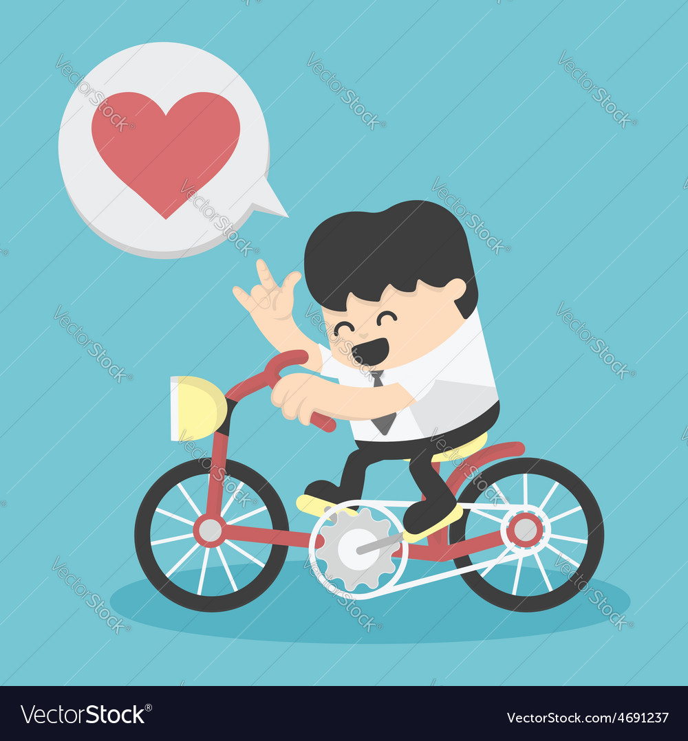 Business happy show love vector   Price: 1 Credit (USD $1)