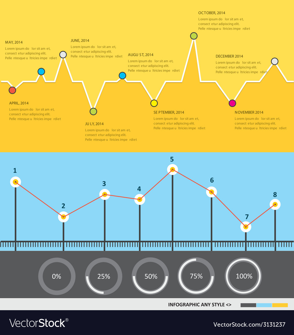 Infographic 59 vector | Price: 1 Credit (USD $1)