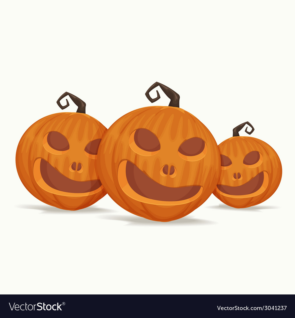 Pumpkins vector | Price: 1 Credit (USD $1)