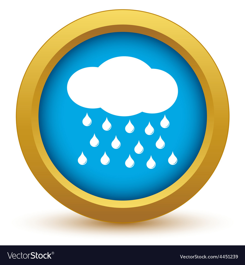 Gold rain icon vector | Price: 1 Credit (USD $1)