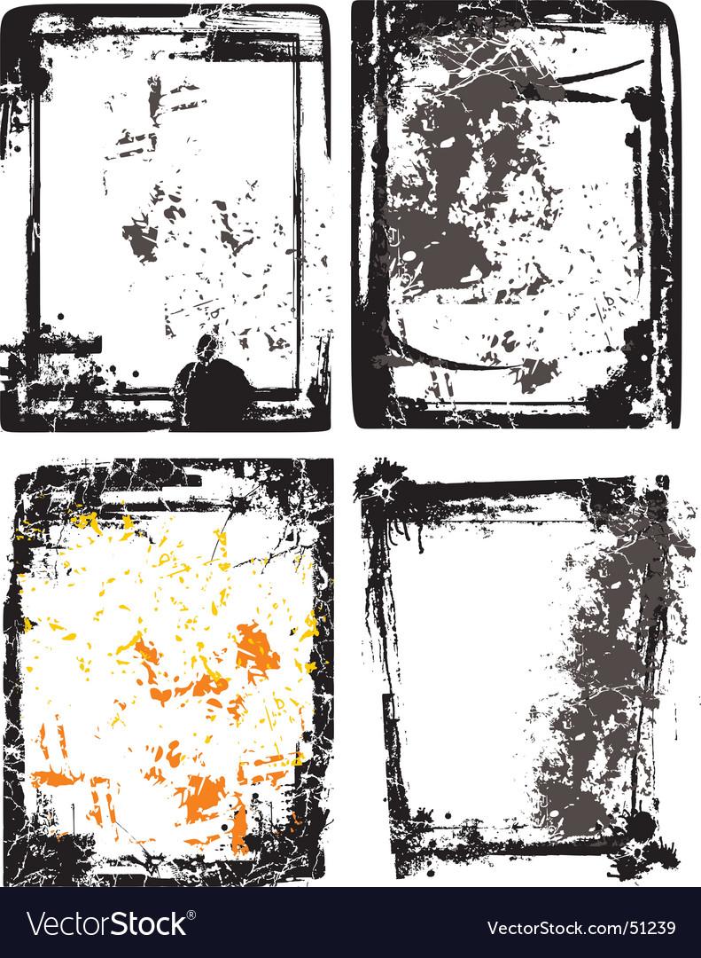 Splash grunge design background vector | Price: 1 Credit (USD $1)