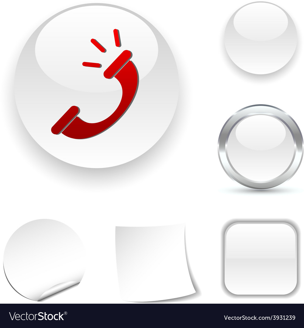 Telephone icon vector | Price: 1 Credit (USD $1)