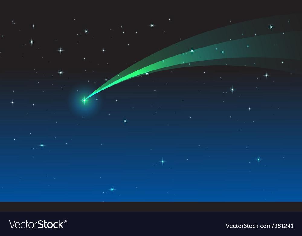 Comet vector | Price: 1 Credit (USD $1)