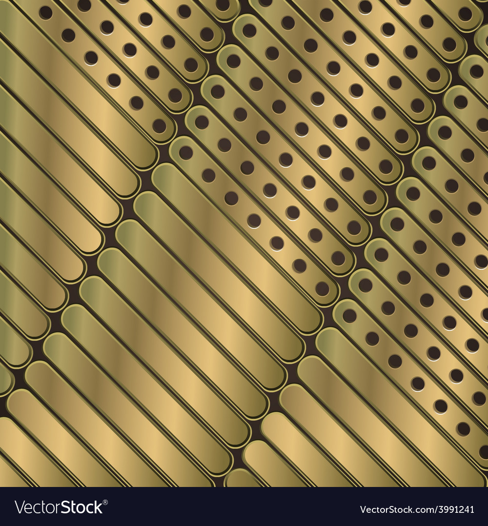 Steampunk background of thin metal plates vector | Price: 1 Credit (USD $1)