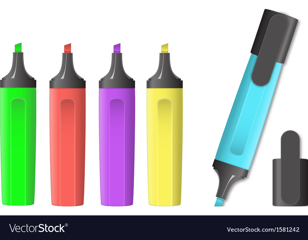Image of markers vector   Price: 1 Credit (USD $1)