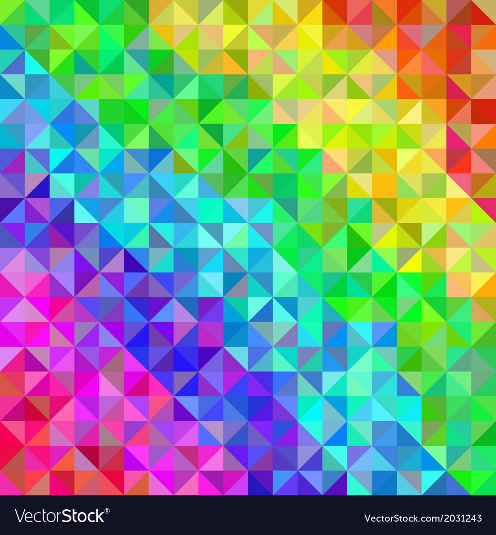 Abstract spectrum background from triangles vector | Price: 1 Credit (USD $1)