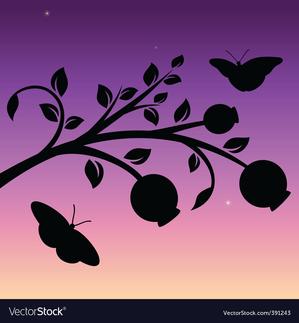 Evening vector | Price: 1 Credit (USD $1)