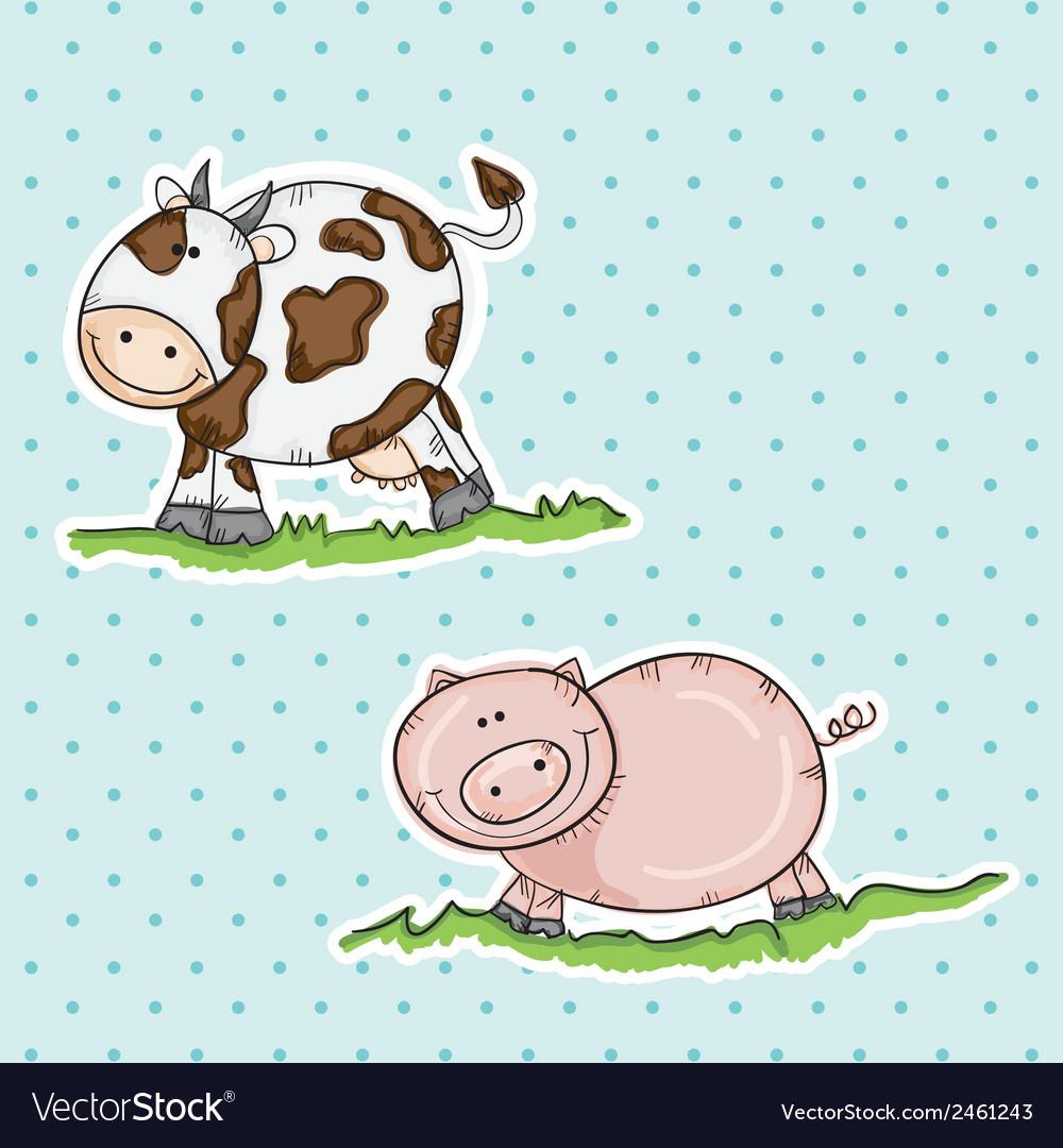 Farm icons vector | Price: 1 Credit (USD $1)
