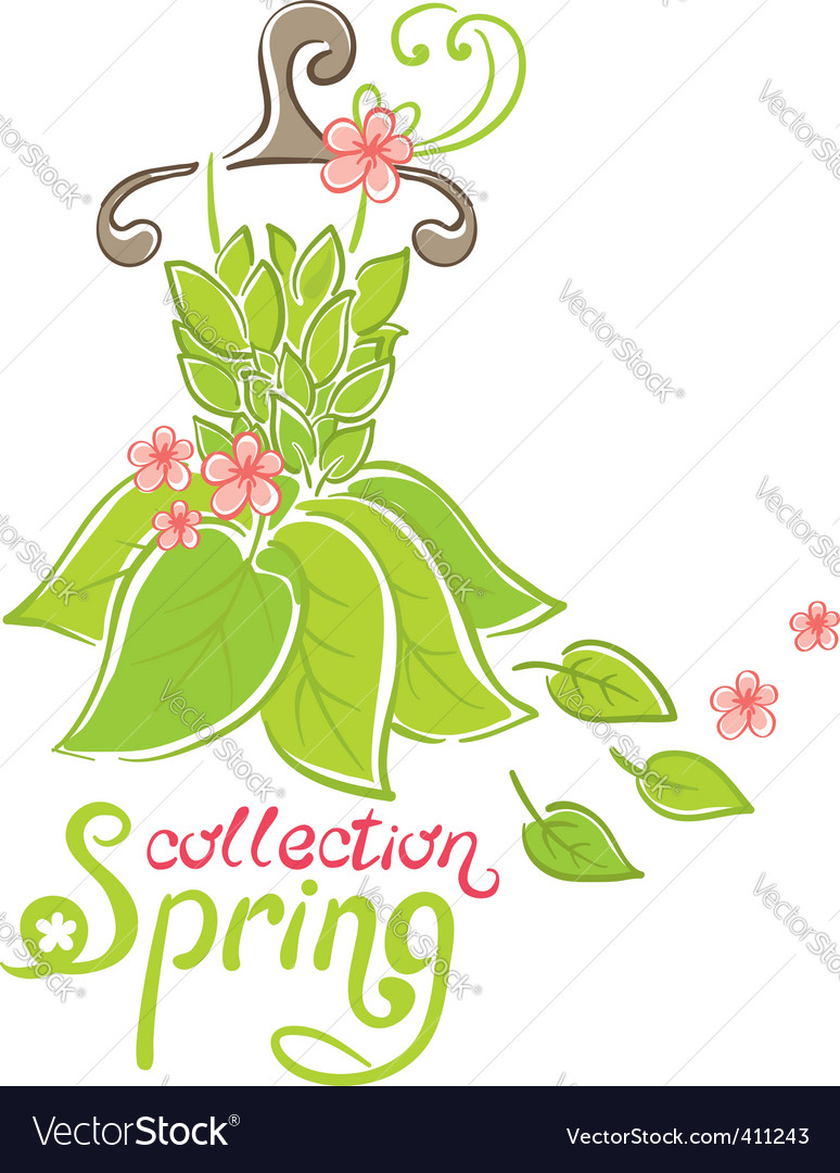 Spring fashion collection vector | Price: 1 Credit (USD $1)