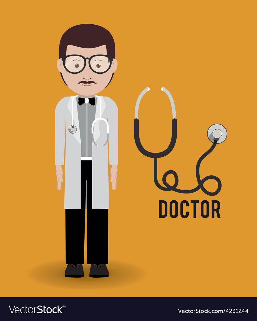 Doctor design vector | Price: 1 Credit (USD $1)