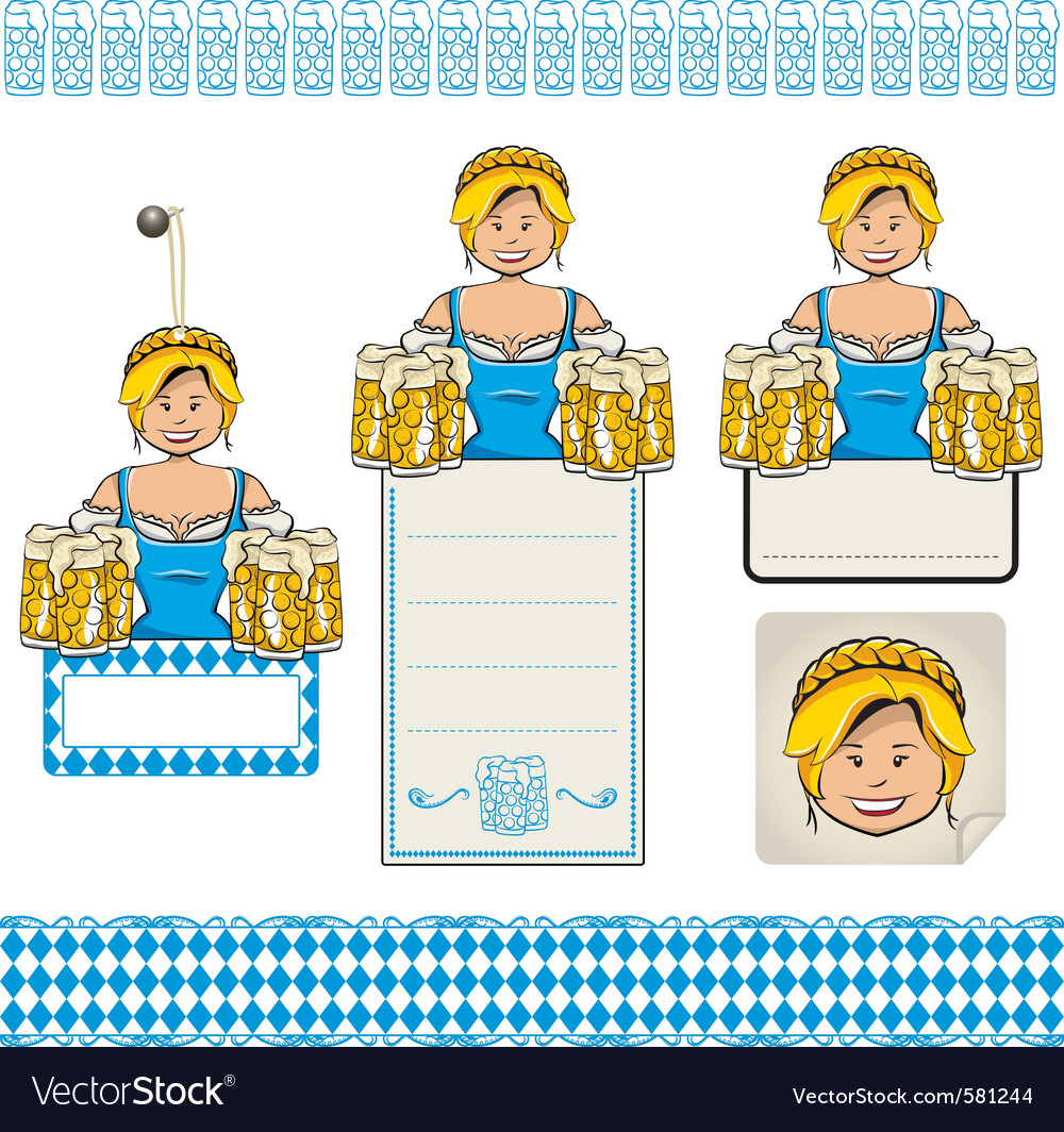 Oktoberfest set vector | Price: 3 Credit (USD $3)