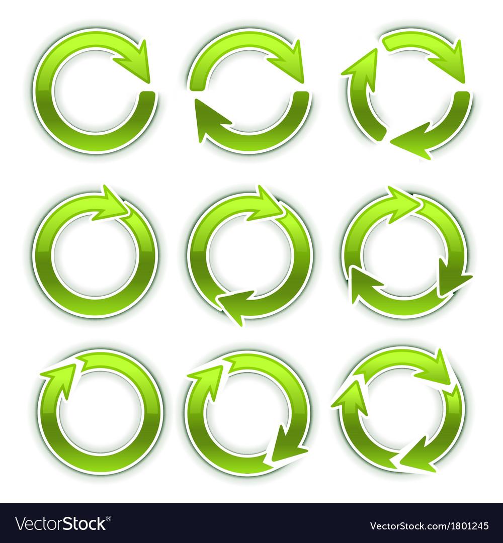 Arrow circles vector | Price: 1 Credit (USD $1)
