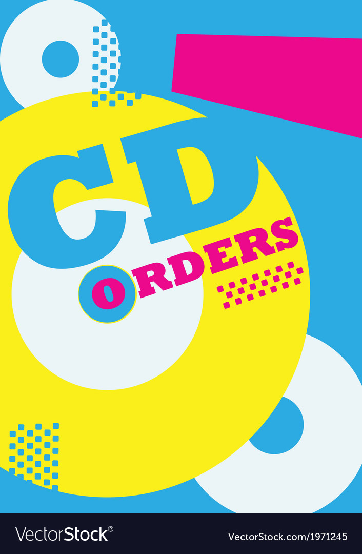 Cdorder poster vector | Price: 1 Credit (USD $1)