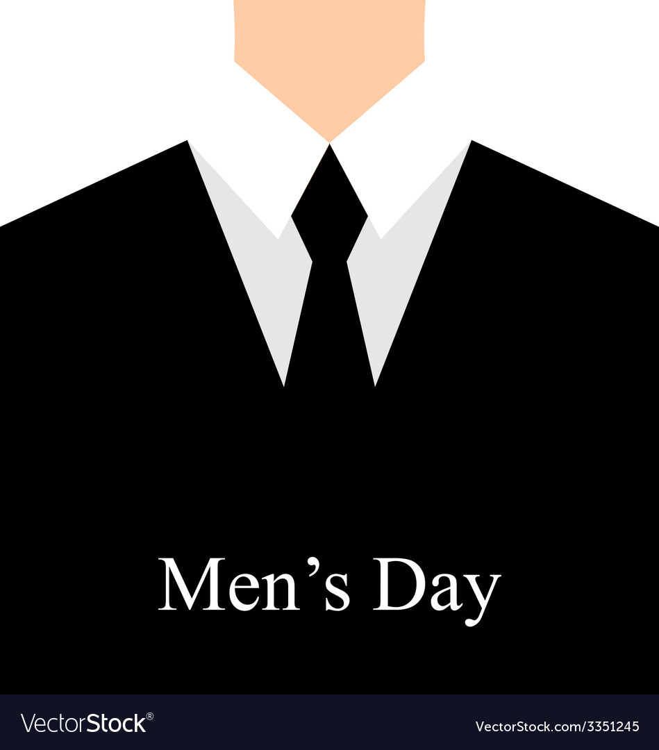 Celebration card for international mans day - vector | Price: 1 Credit (USD $1)