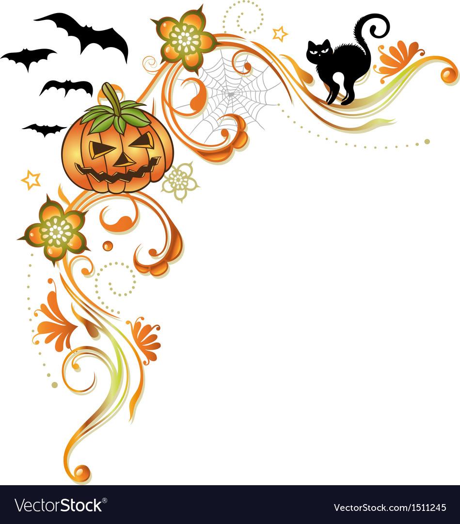 Halloween ornament vector | Price: 1 Credit (USD $1)