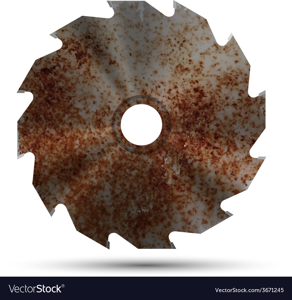 Realistic circular saw vector | Price: 1 Credit (USD $1)