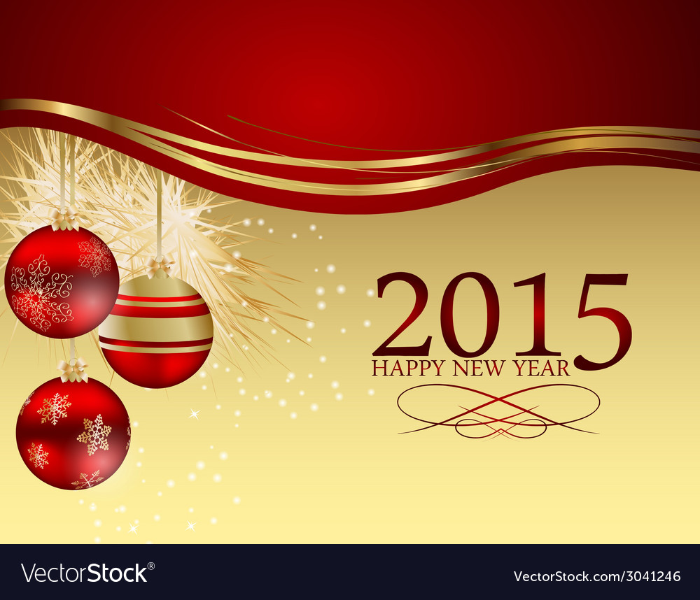 Abstract beauty christmas 2015 and new year vector | Price: 1 Credit (USD $1)