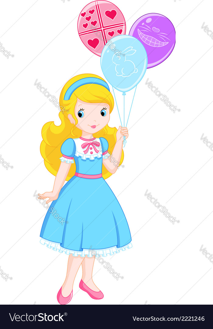 Alice in wonderland vector | Price: 1 Credit (USD $1)