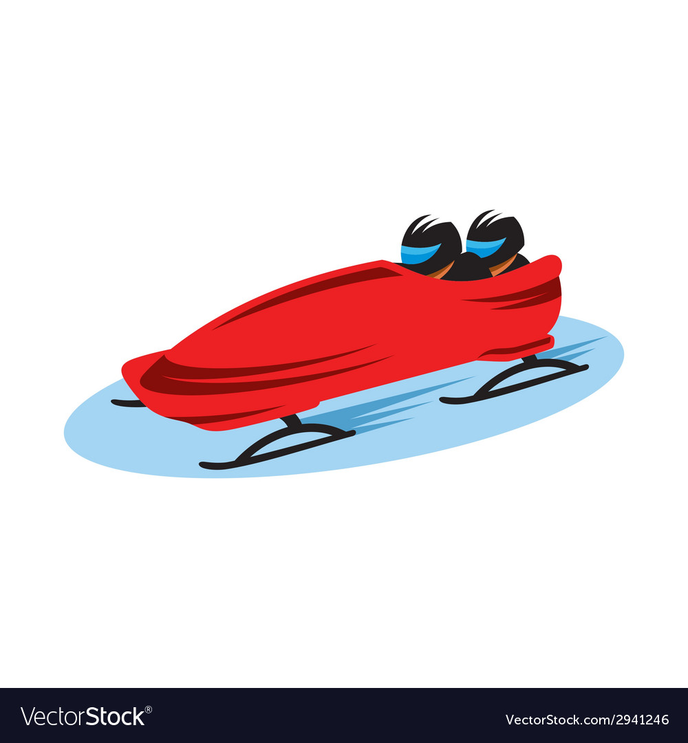 Bobsleigh sign vector   Price: 1 Credit (USD $1)