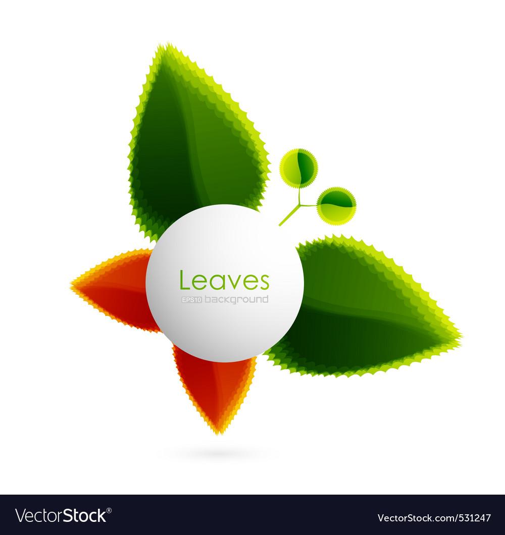 Leaf logo vector   Price: 1 Credit (USD $1)