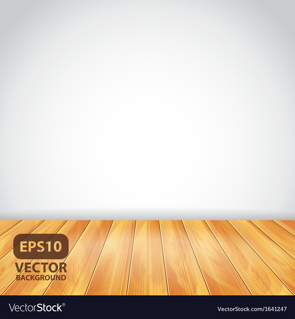 White wall wooden floor vector | Price: 1 Credit (USD $1)