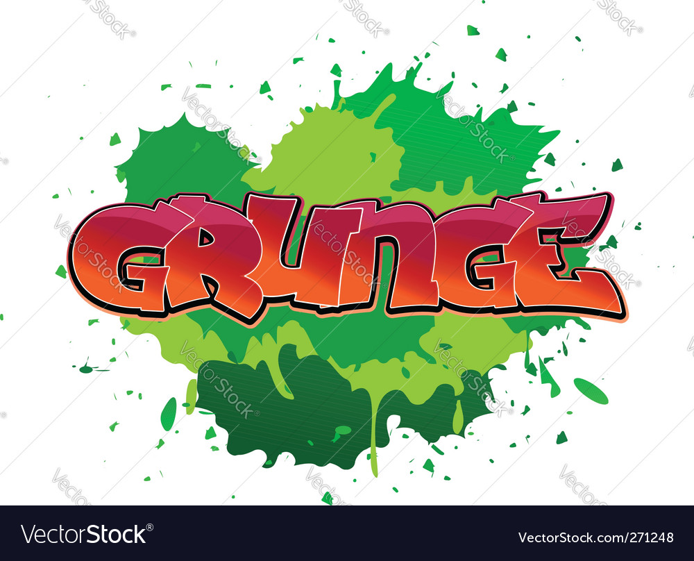 Grunge graffiti background vector | Price: 1 Credit (USD $1)
