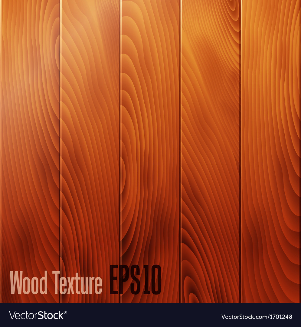 Realistic wood texture background vector | Price: 1 Credit (USD $1)