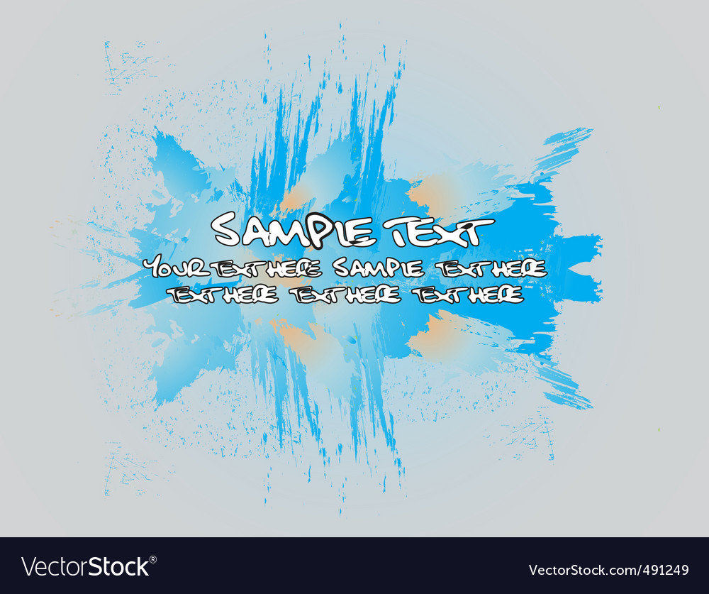 Grunge template vector