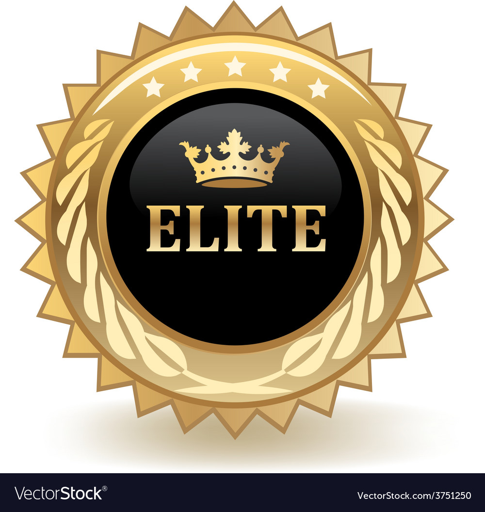 Elite badge vector | Price: 1 Credit (USD $1)