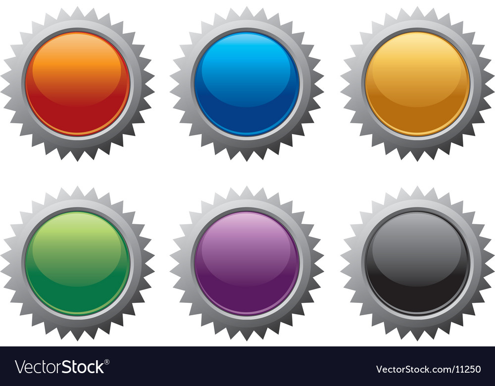 Internet burst icons vector | Price: 1 Credit (USD $1)