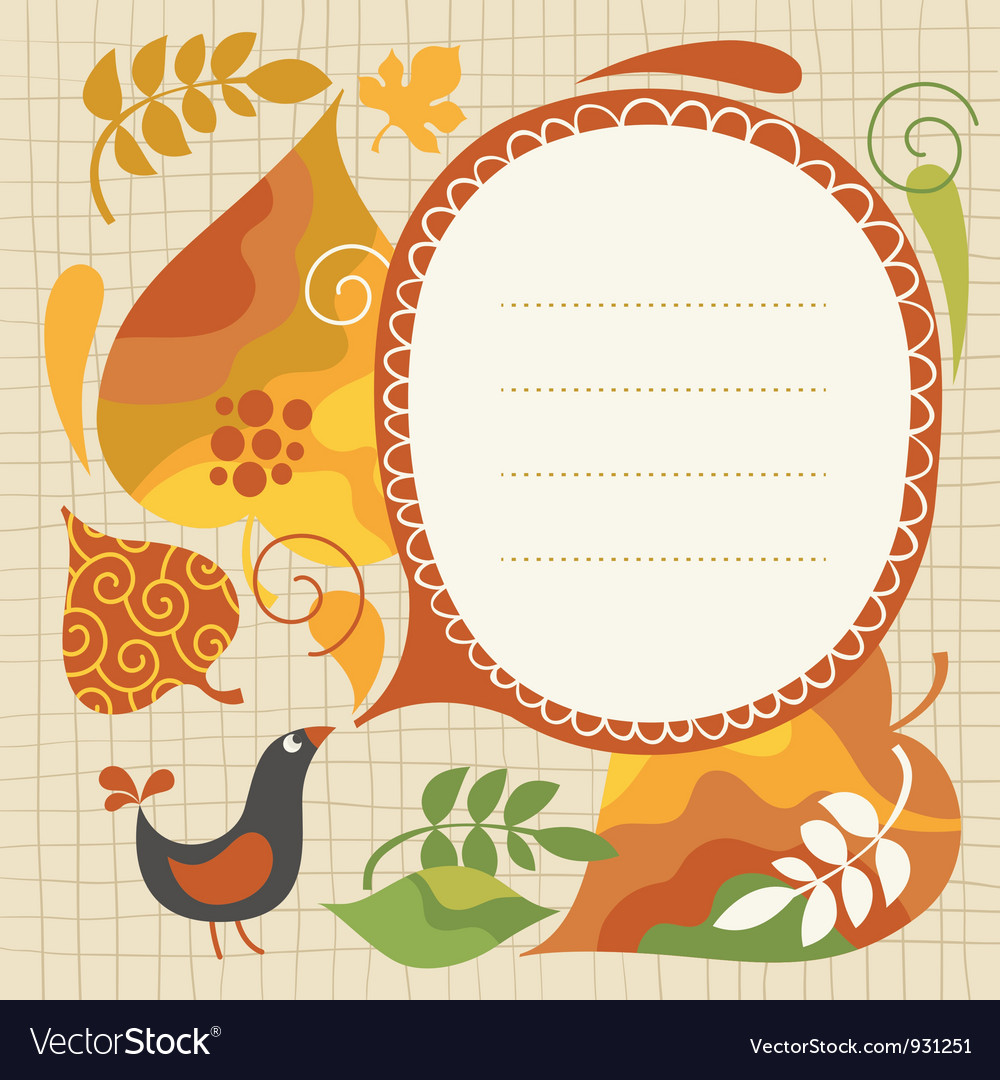 Autumnal vector | Price: 1 Credit (USD $1)