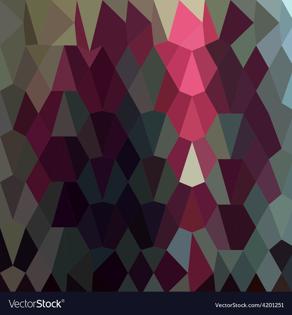 Burgundy abstract low polygon background vector | Price: 1 Credit (USD $1)