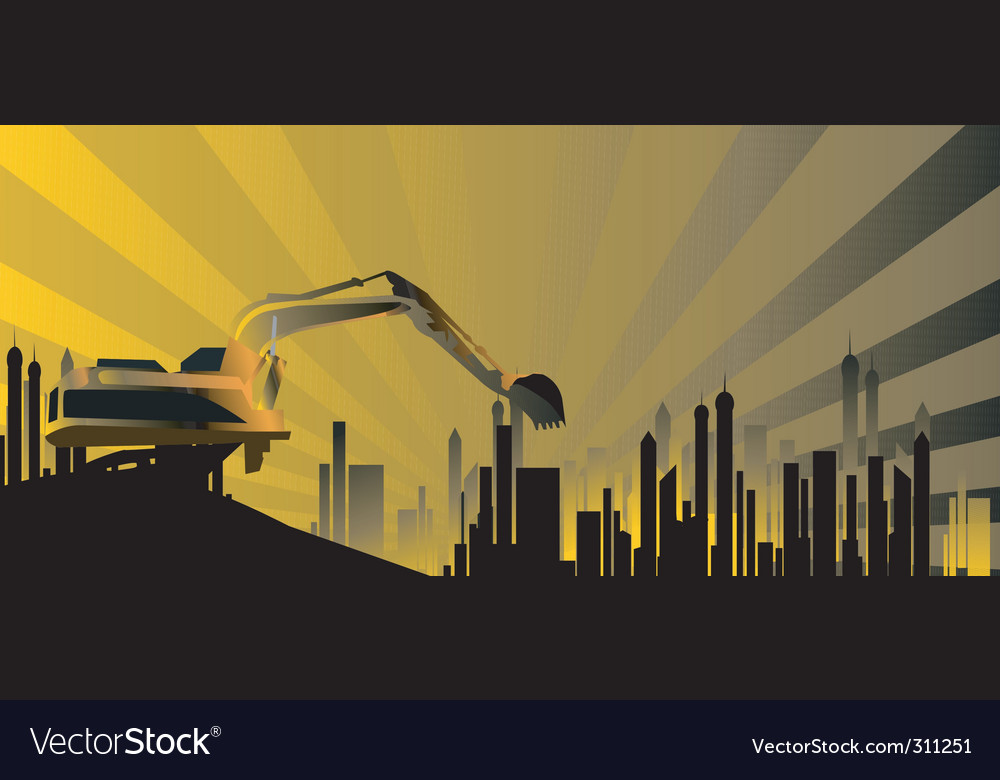 Earth mover vector | Price: 1 Credit (USD $1)