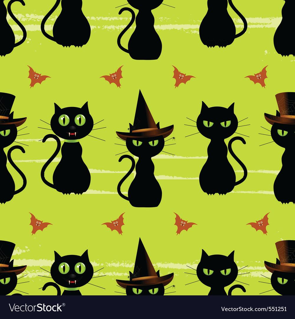 Halloween cats vector | Price: 1 Credit (USD $1)