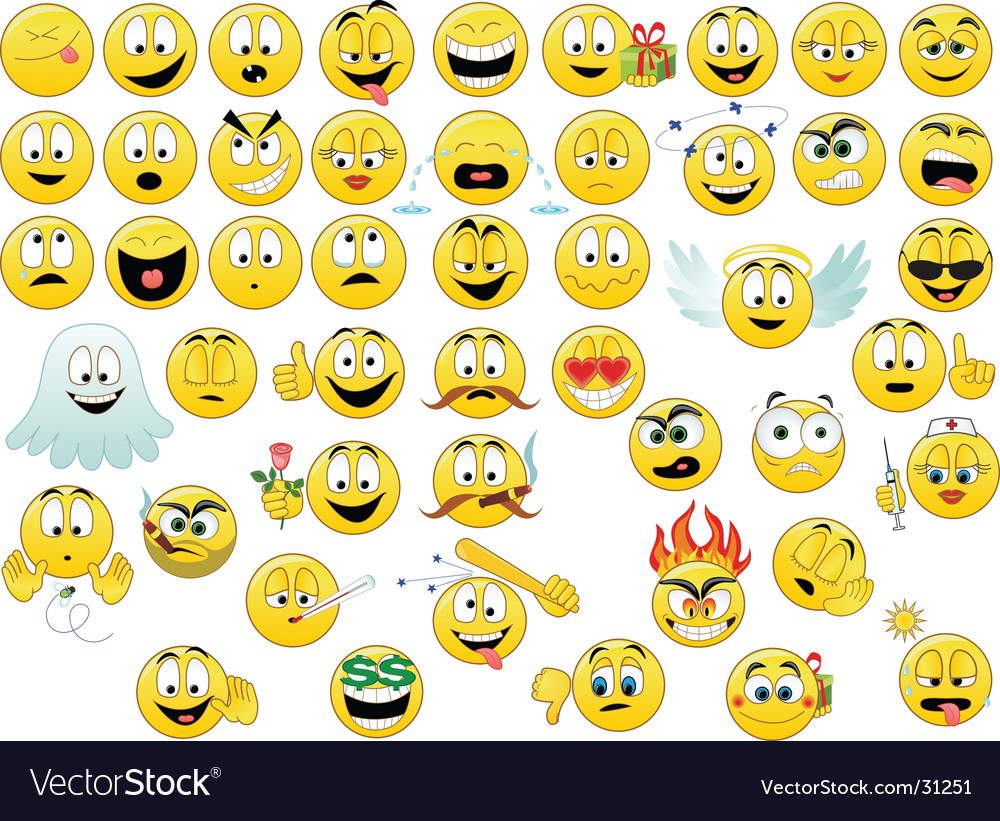 Smiles vector | Price: 3 Credit (USD $3)