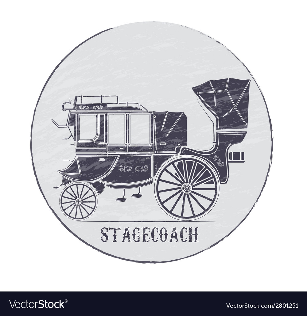 Stagecoach vector | Price: 1 Credit (USD $1)