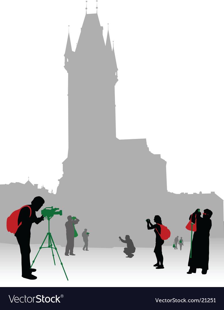 Tourist in city vector   Price: 1 Credit (USD $1)