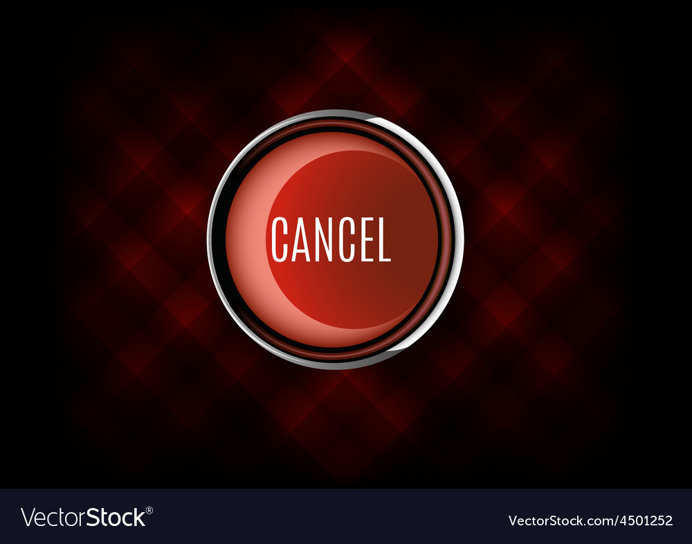 Cancel buttons vector | Price: 1 Credit (USD $1)
