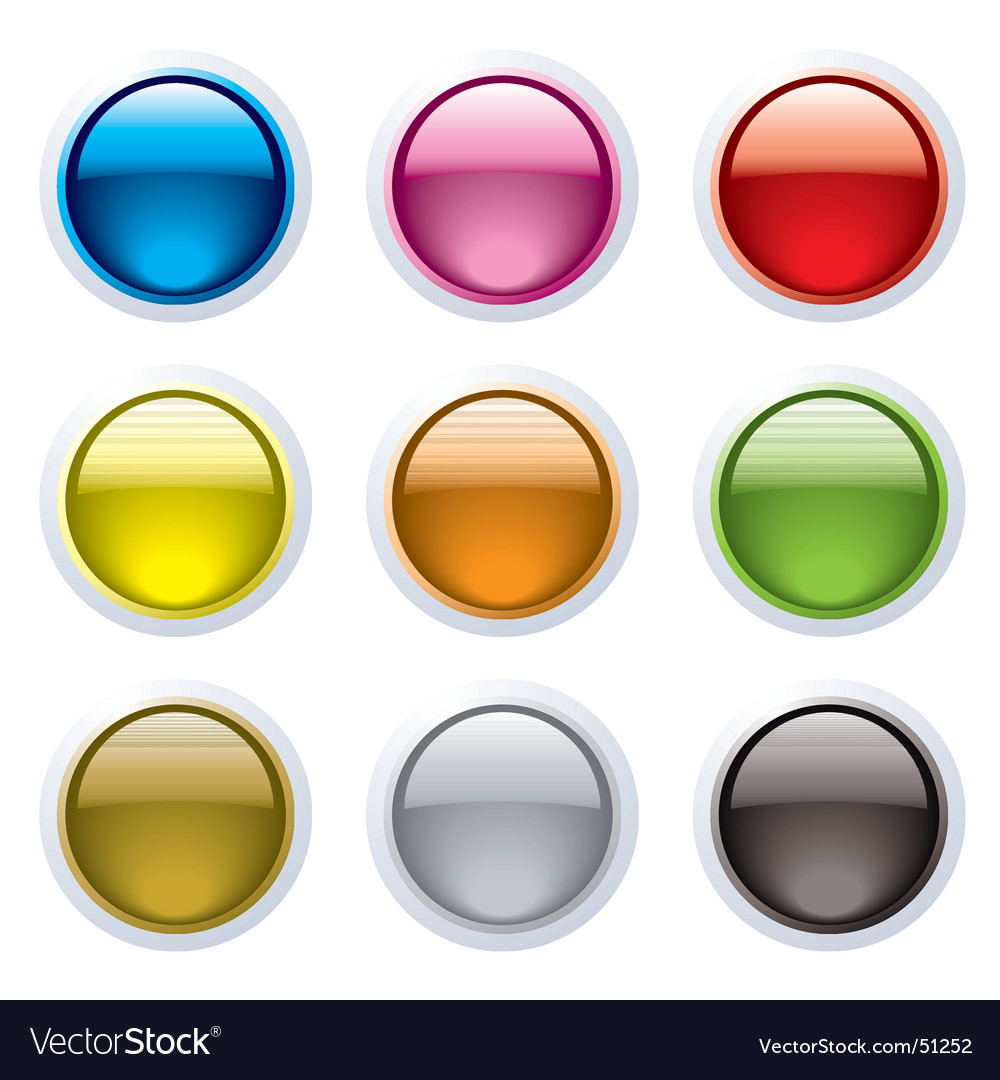 Gel buttons vector | Price: 1 Credit (USD $1)