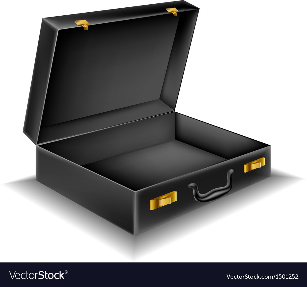 Open briefcase vector | Price: 1 Credit (USD $1)